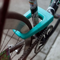 Cykel låst med Knog Bouncer