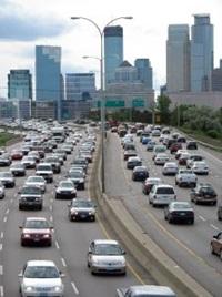 Biltrafik - Trafikstockning