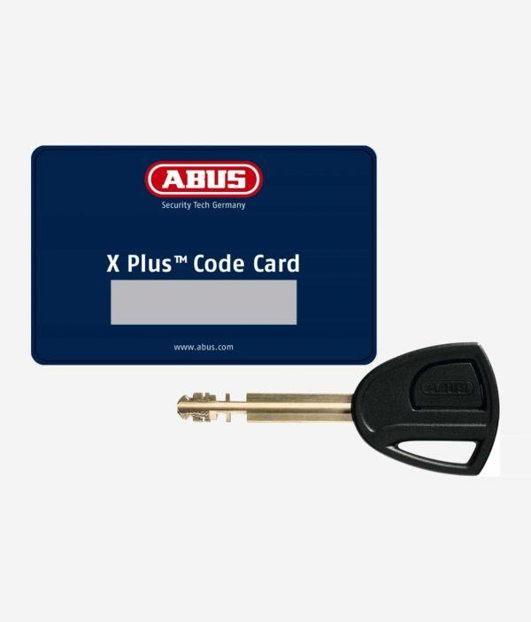 Abus X-Plus Kodkort & Nyckel